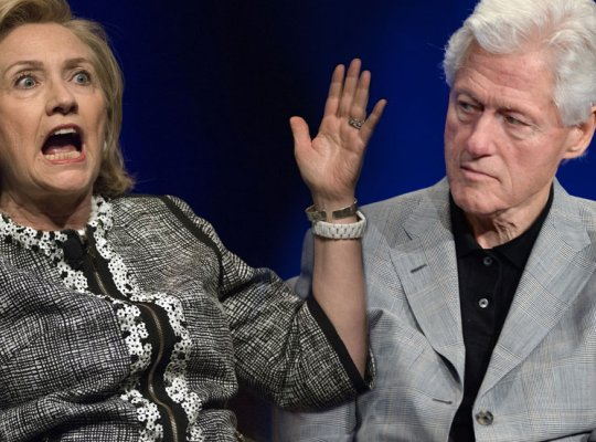 Bill And Hillary S Less Than Romantic Valentine S Day Dinner