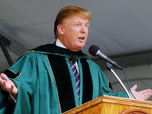 "Open Letter By Wharton Students Leads to Trump ""Diploma-gate"""
